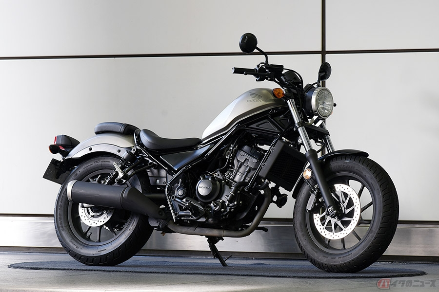 ホンダ「レブル250」2020年モデル登場 純正アクセサリーを標準装備した「S Edition」も同時発売