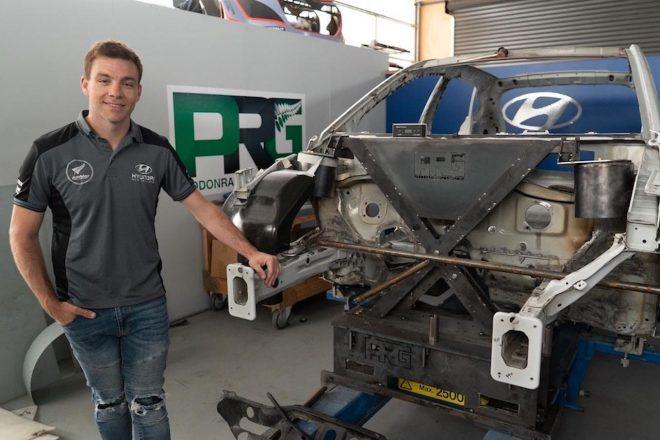 WRC参戦経験あるパッドン、ヒュンダイ・ベースの独自開発EVラリーカー・プロジェクトは「完成間近」