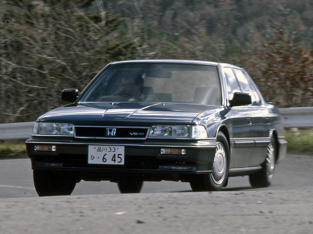 【昭和の名車 162】レジェンドは、ホンダの頂点を極めるモデルとして登場した