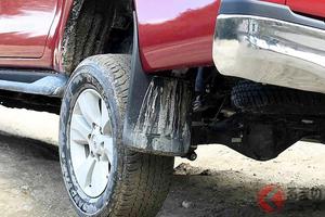 なぜ泥除け装着車は激減? SUV増加でも採用されない理由