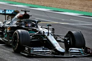 【F1データ主義】メルセデスやマクラーレンを襲ったタイヤのパンク。ラップタイムから負荷を考察