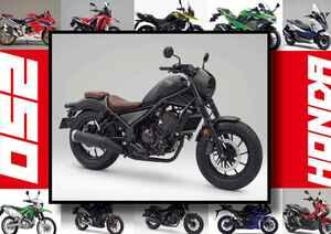 ホンダ「レブル250 S エディション」いま日本で買える最新250ccモデルはコレだ!【最新250cc大図鑑 Vol.005】-2020年版-
