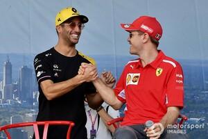 ダニエル・リカルド、フェラーリ入りの交渉あったと認める。カルロス・サインツJr.の跳ね馬加入には納得感も?