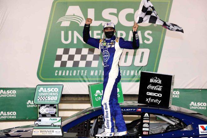NASCAR:シャーロット2戦目は不運続いていたシボレーのエリオットが優勝。2020年初白星