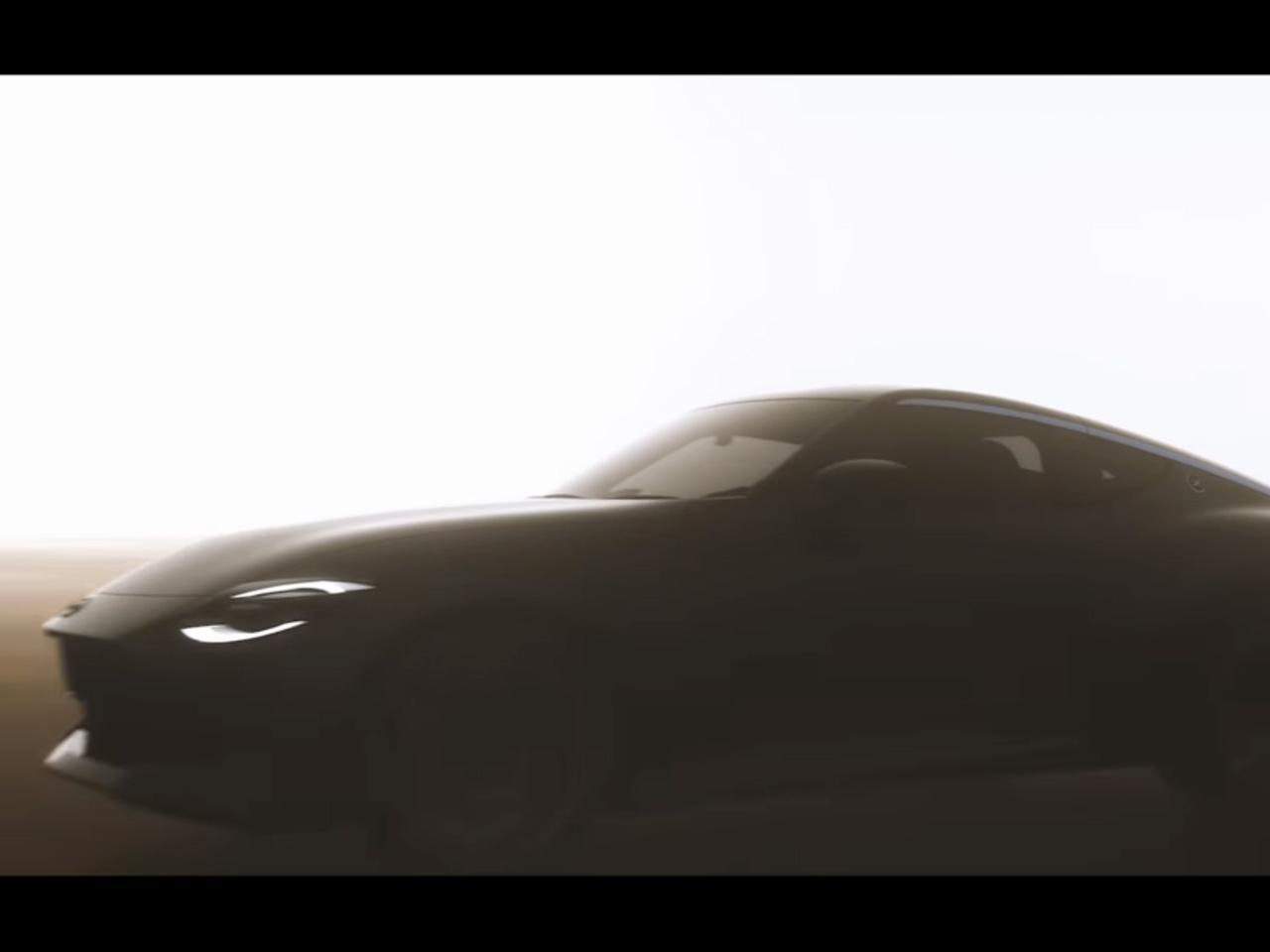 【動画】次期フェアレディZの姿を確認。日産が計画する次期モデル12車種の映像を公開した