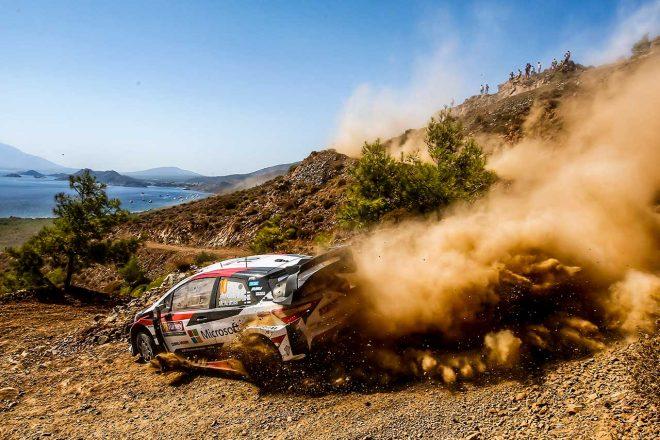 WRC:王座争うトヨタのタナクにECUトラブル発生。「本当に申し訳なく思う」とマキネン代表