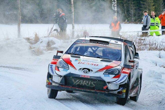 WRC第2戦スウェーデン:大会3日目、エバンス快走でリード拡大。トヨタの2020年初優勝に王手