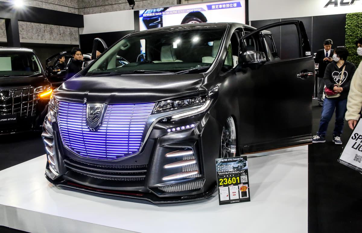 アルパインスタイルが特別な内外装を施した4車種の限定モデルを発表【大阪オートメッセ2020】