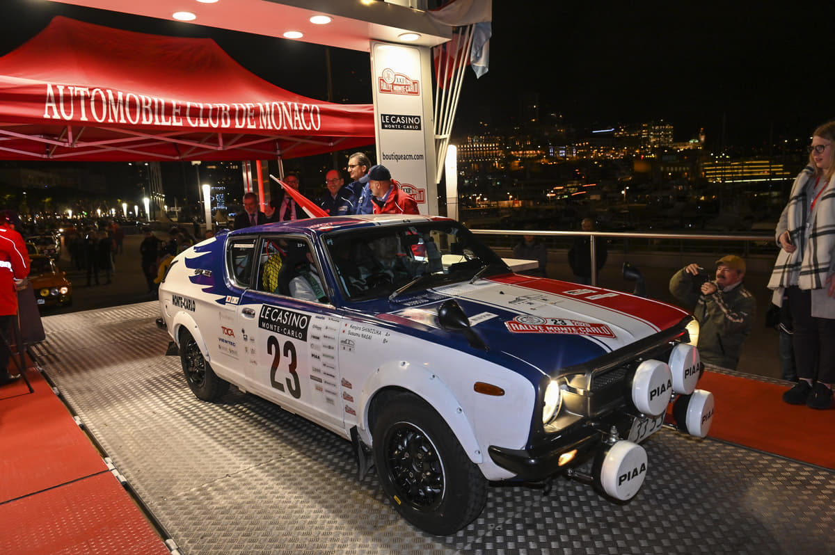 世界一のラリー伝統を継承する「ラリー・モンテカルロ・ヒストリック2020」 篠塚建次郎選手を含む日本チーム全車完走