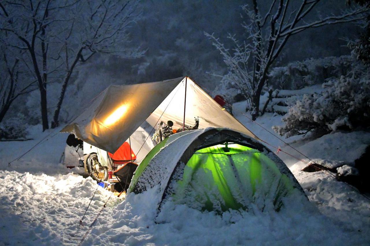ホンダSUPER CUB 90&70でゆく、信州・雪中キャンプツーリング〈新連載! 若林浩志のスーパー・カブカブ・ダイアリーズ〉