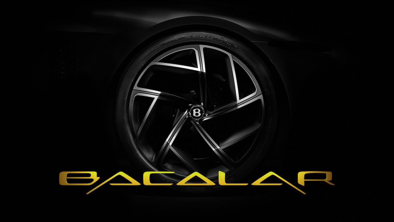 ベントレー、ビスポーク部門のマリナーが手がけたコンセプトカー「バカラル」を3月に公開
