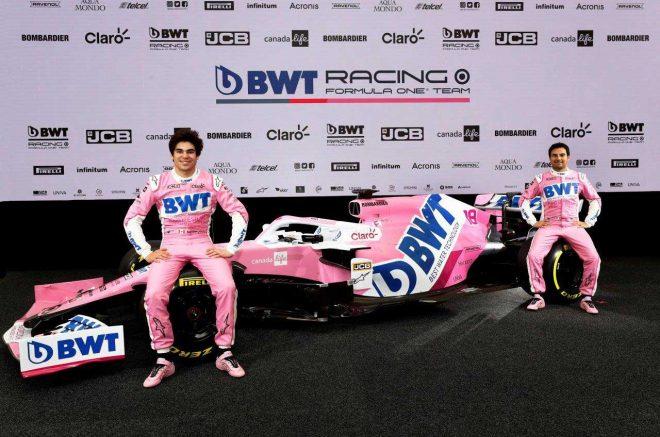 レーシングポイントF1が2020年を戦う新マシン『RP20』をアンベイル。BWTとのタイトルスポンサー契約も発表