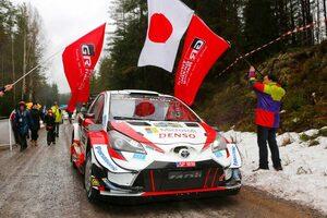 WRC:豊田章男チーム総代表が第2戦スウェーデン勝利にコメント。リタイアしたラトバラには「申し訳ない気持ち」