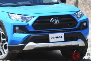 トヨタ「RAV4」なぜ売れる? 激戦のSUV市場で支持される理由とは