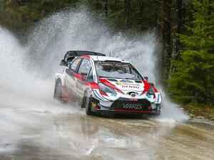 WRC第2戦ラリー・スウェーデン、トヨタのE.エバンスが快勝【モータースポーツ】