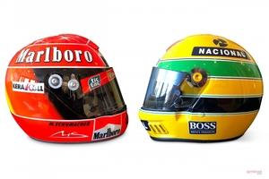 【セナとシューマッハー】F1のヘルメット、高いのはどちら? RMサザビーズ・パリ・オークション