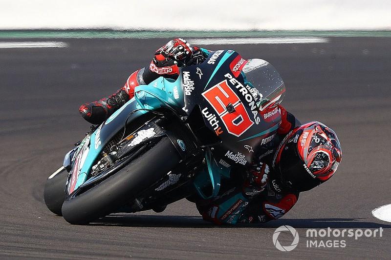 """【MotoGP】""""警告灯""""の点灯でフロントロウを逃した……クアルタラロ、トラブルに泣く"""