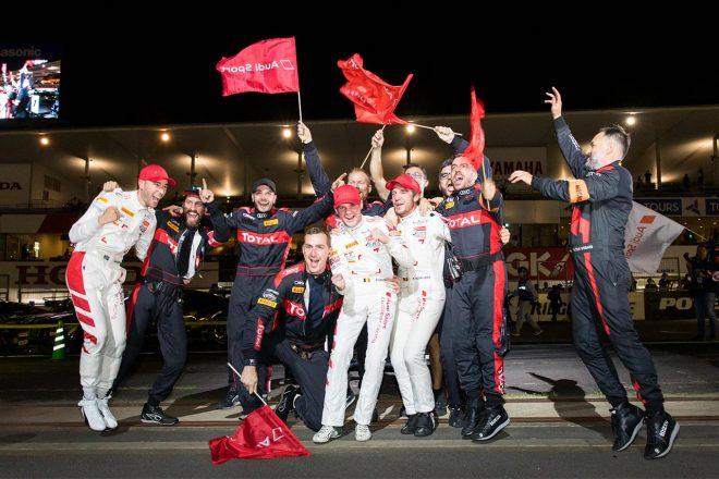 鈴鹿10時間:アウディ25号車が完勝でRSの25周年を飾る。日本勢最上位はKCMGの6位
