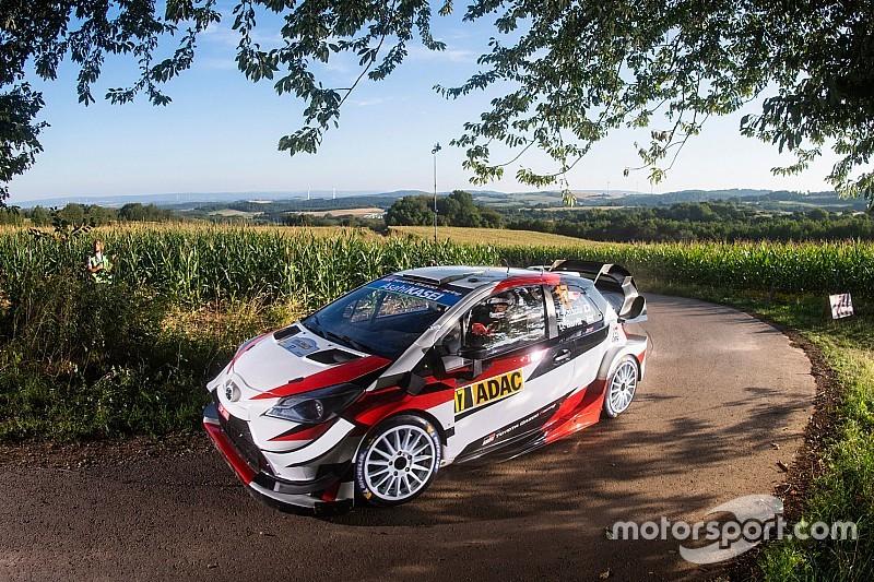 WRCドイツ:勝田貴元、3日目終えて10番手。難路面に苦戦も……大きなミスはなし