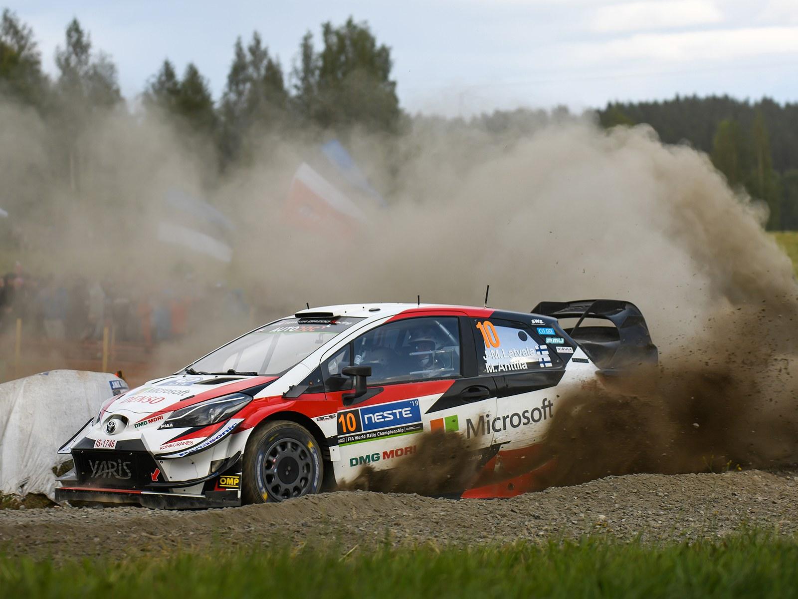 トヨタ、3年連続勝利へ王手! ホーム戦となったWRC第9選、ラリーフィンランドをレポート