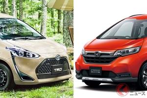 人気ミニバン「シエンタ」「フリード」どっちが買い? SUV風モデルの装備差を徹底比較!