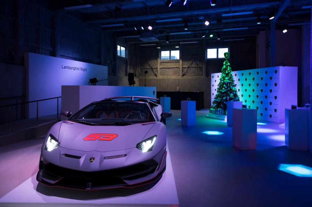 ランボルギーニ・ジャパンが2019年を締めくくるイベント「ランボルギーニ・ナイト」を東京・南青山で実施