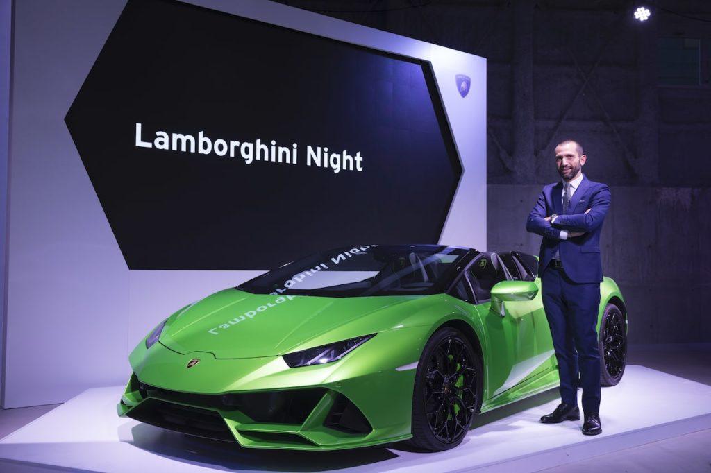 ランボルギーニ・ジャパン、2019年を締めくくる「Lamborghini Night」を開催。過去最高の売上と発表
