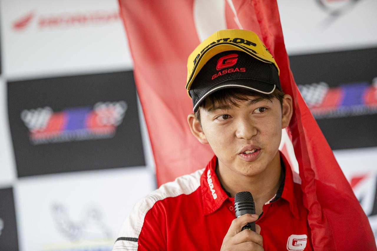 GASGAS買収劇の余波18歳のJECトップランカー保坂修一が新チームへ