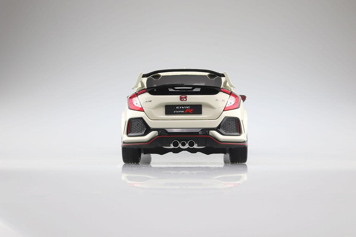 アオシマから本格派ミニカーが誕生! 第1弾はホンダシビックタイプRで2020年3月に発売予定
