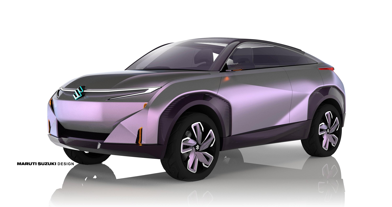 スズキ、クーペSUVタイプの電気自動車をインドの自動車見本市で発表
