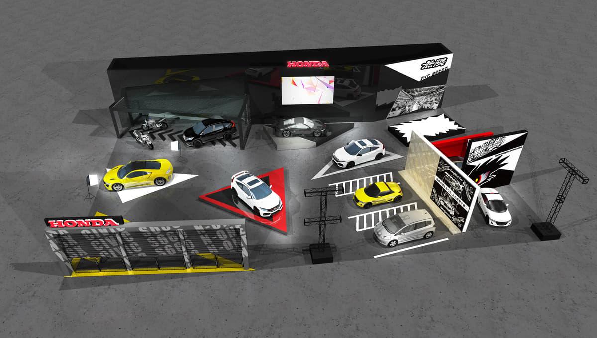HONDA「大阪オートメッセ2020」に出展! 今夏発売の新型シビック・タイプRなど12台を展示