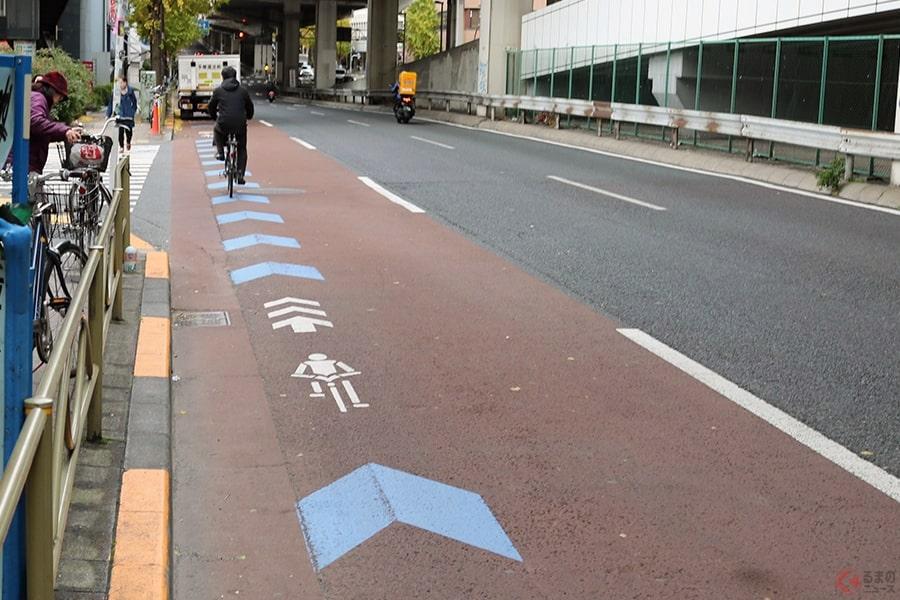 法的効力はある? 道路の「自転車マーク」の勘違いで起こるトラブルとは