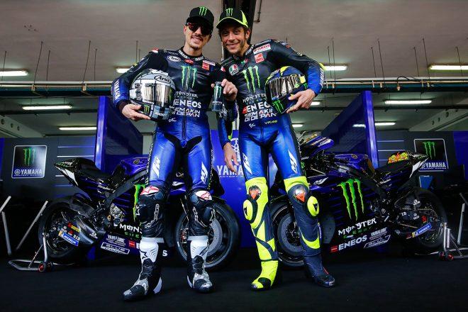 MotoGP:モンスターエナジー・ヤマハが20年型YZR-M1をお披露目。ロッシ、ビニャーレスの布陣はラストイヤー