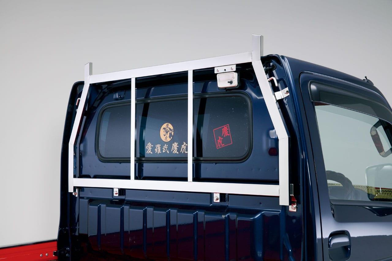 軽トラは仕事で使えてこそ。実用性重視のエアロメイク|Kカー カスタム