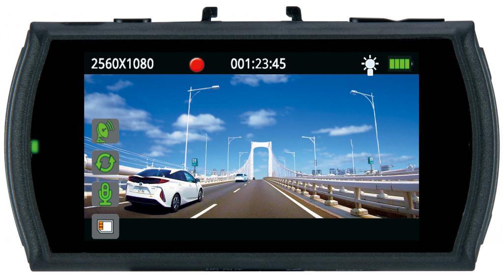 【最新ドラレコインプレ】3M高画質&ウルトラワイド画面を搭載! データシステム DVR3000 【CAR MONO図鑑】