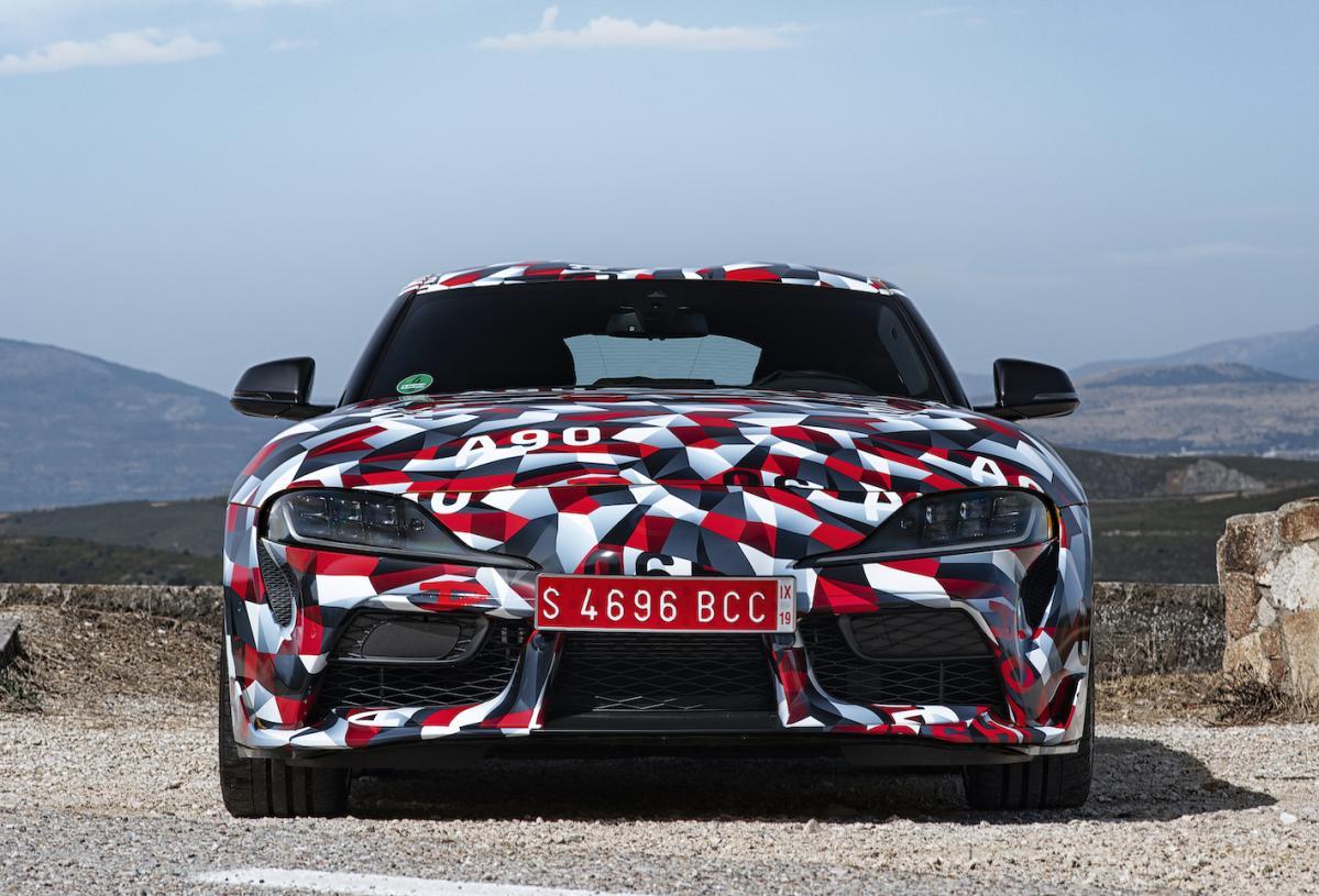トヨタ新型スープラ(A90型)、正式デビューは2019年1月のデトロイト・モーターショー!