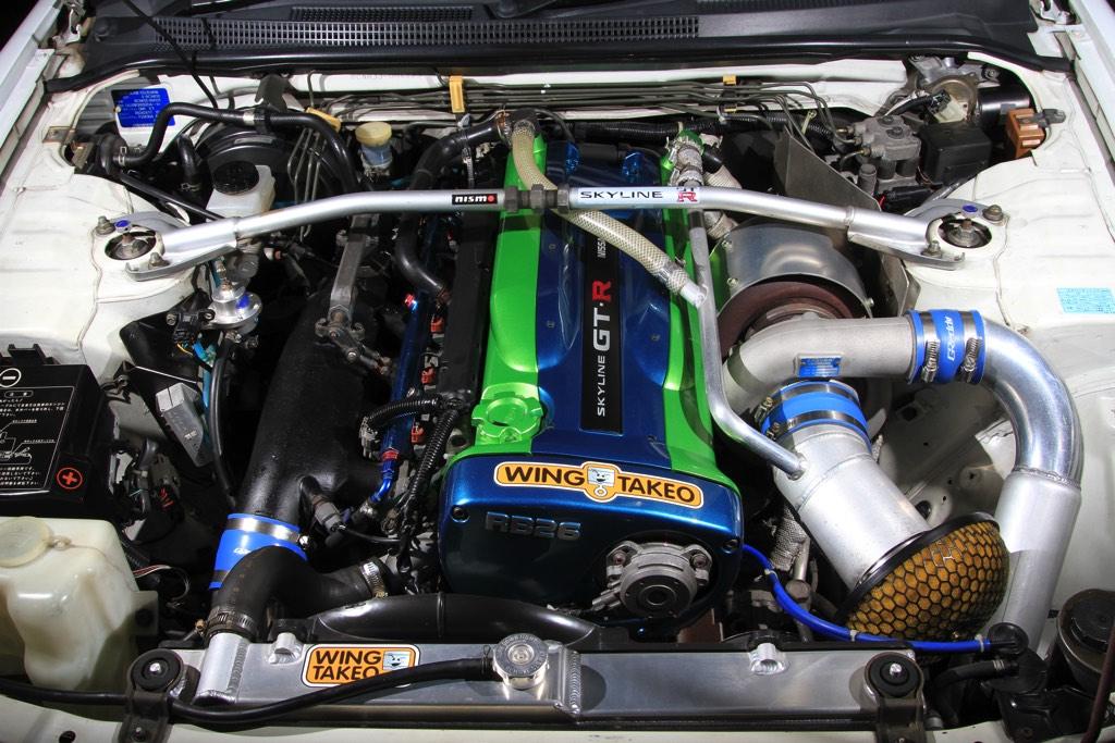 「目指したのは高い信頼性と耐久性」20年経っても元気に走る550馬力のチューンドGT-R(BCNR33)!