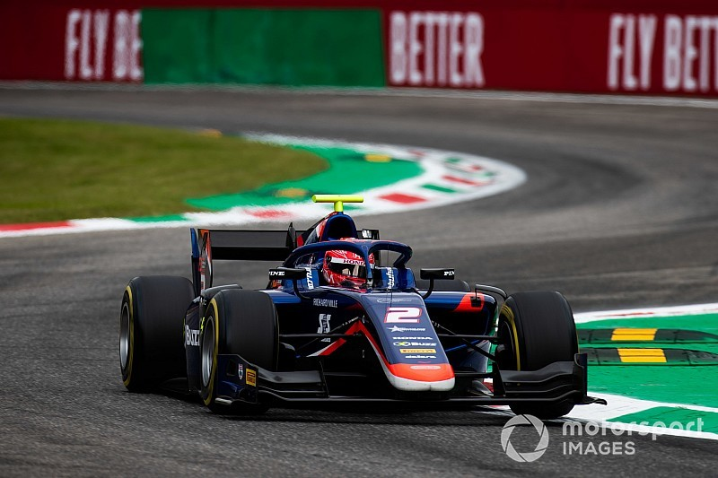 "F2モンツァレース1:松下信治、""完璧な""レースで今季2勝目を挙げる。ランク6位に浮上"