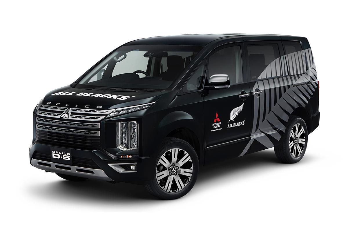 ラグビー強豪チーム「オールブラックス」と三菱自動車がパートナーシップ契約を締結