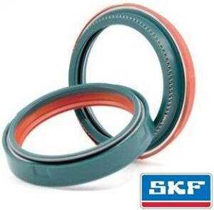 SKFのシールがアップデート、デュアルコンパウンドでサスの動きがもーっとスムーズに