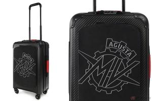 MVアグスタとテクノモンスターが共同で製造する旅行バッグは航空宇宙技術満載