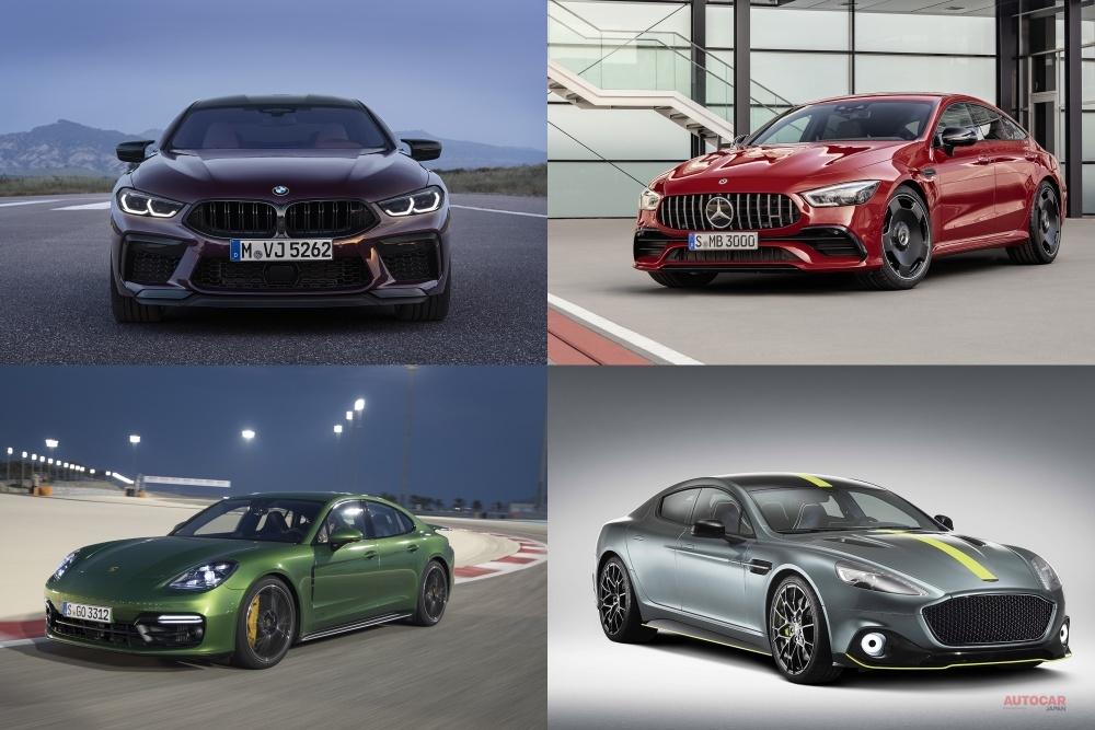 【ライバル数値比較】BMW M8グランクーペ、出力/速度/価格で勝ち目は? AMG GT/パナメーラ/ラピードなど比較