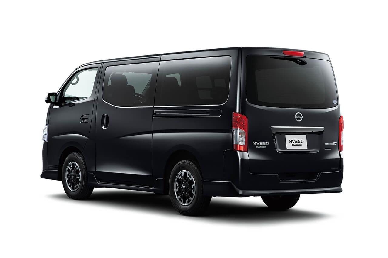 """日産の""""プロ仕様""""「NV350キャラバン」と「NV200バネット」が「フィッシングショーOSAKA2020」に出展"""
