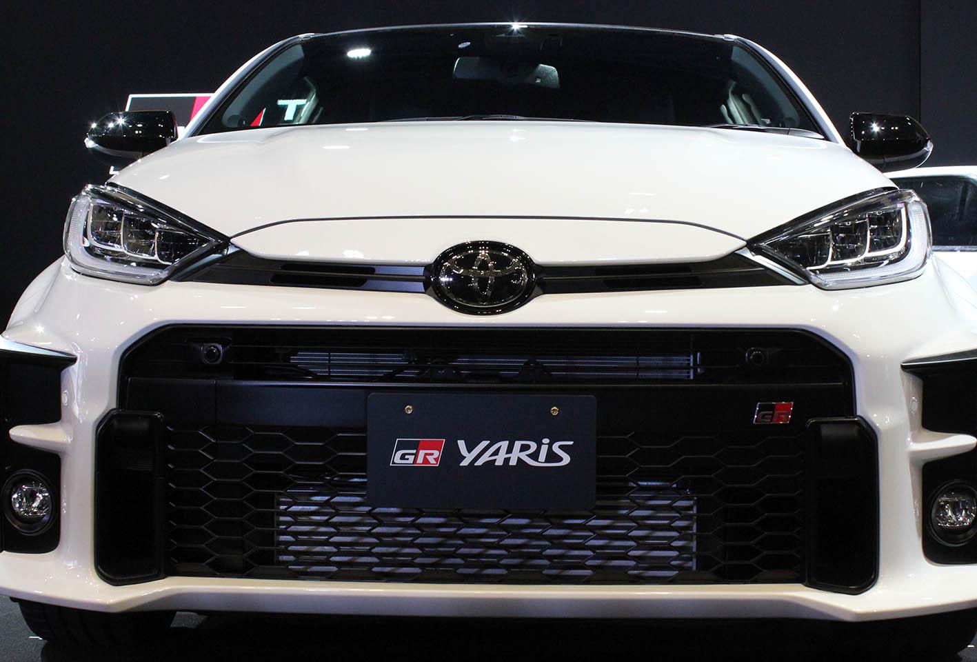 【東京オートサロン2020】トヨタがGRヤリスを世界初公開!!