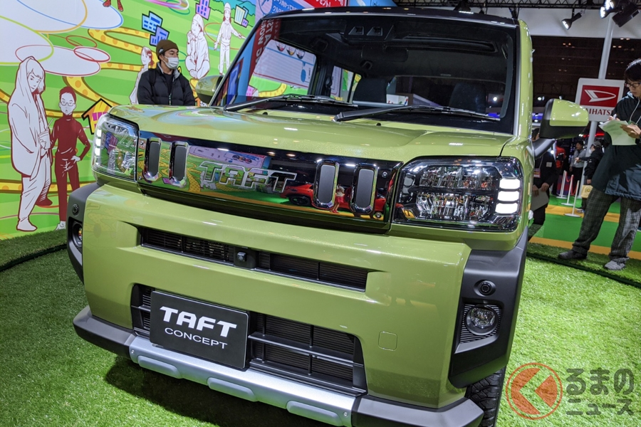 ダイハツ 新型軽SUV「タフト」世界初公開! 打倒「ハスラー」へ2020年発売
