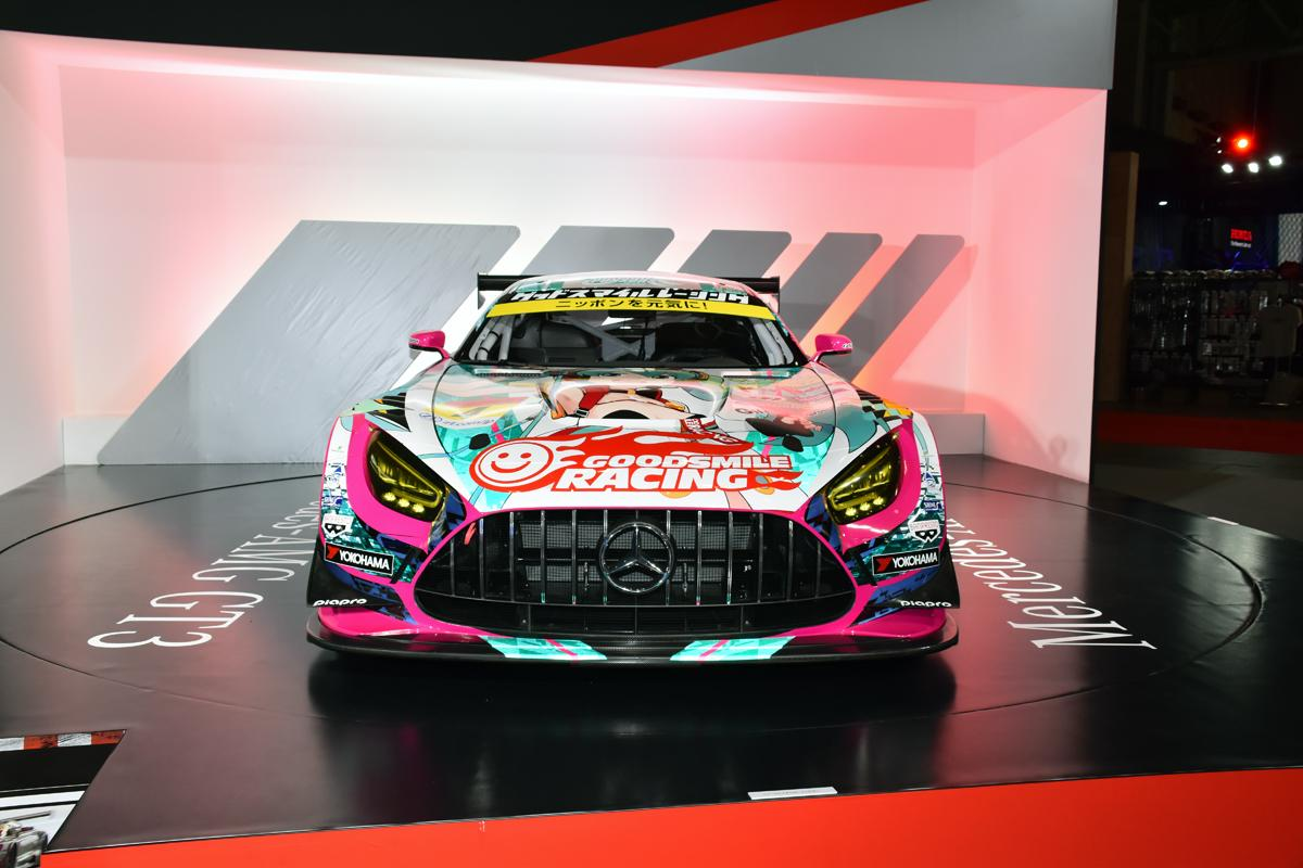 メルセデスAMG GT GT3を日本初公開! エコと走りのメルセデス・ベンツブース【東京オートサロン2020】