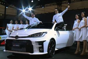 トヨタ 4WDスポーツモデル「GRヤリス」発表 先行予約を開始