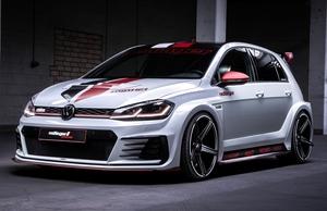 「VW Golf GTI TCR」のスタイリングをGTIとRで実現するボディキット
