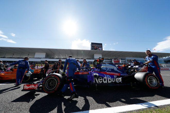 トロロッソ・ホンダ F1日本GP密着:土曜の歓喜から一転。金曜の走り込み不足が響いた決勝
