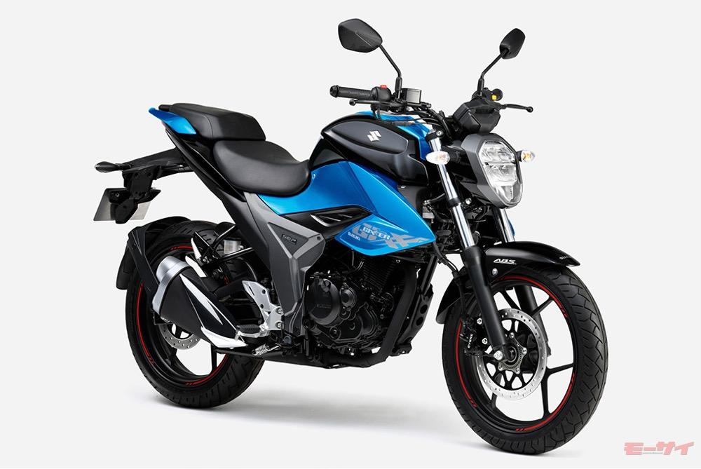燃費はリッター50kmオーバー! コスパよしの150ccバイク、スズキ「ジクサー」がモデルチェンジ